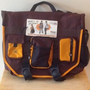 Other - BBP Hybrid Messenger - Backpack Laptop Bag